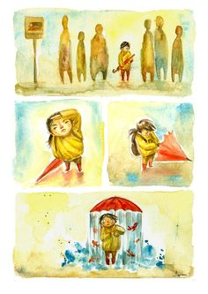 Silent Comics (example) by Ileana Surducan