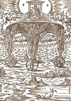 An interpretation of Ezekiel's vision in Ezekiel 1.