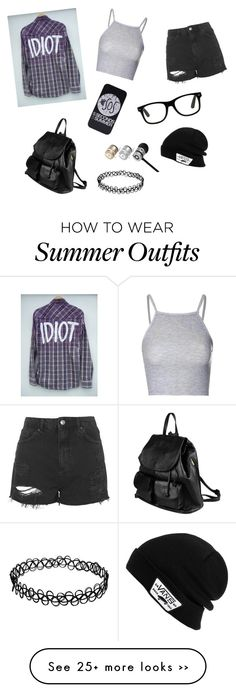 """""""5sos concert outfit"""" by zoey-5sos on Polyvore featuring Glamorous, Topshop, PARENTESI, Beats by Dr. Dre and Vans"""