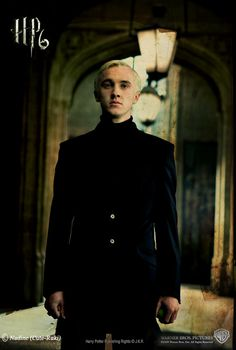 Day 5, favorite male character: Draco Malfoy. And he's my all time favorite character. I like how he has that good streak in him. And he's not bad he's just influenced.