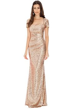 Blossom's Long Square Neck Cap Sleeve Sequin Evening Dress (8, Champagne) Blossom's Trendy Clothing http://www.amazon.co.uk/dp/B00PKF6X1K/ref=cm_sw_r_pi_dp_9YFHub0HCBJX9