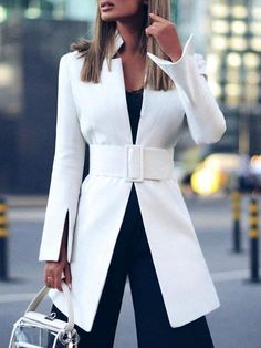 Blazers For Women, Suits For Women, Jackets For Women, Ladies Blazers, Streetwear Mode, Streetwear Fashion, Look Fashion, Fashion Outfits, College Outfits