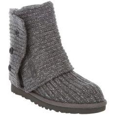 Grey Speckled Foldable Ugg Boots