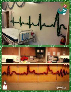 Nursing Garlands 1 5+ Nursing Christmas Decor Ideas That Are Fun and Easy: https://nurseslabs.com/5-nursing-christmas-decor-ideas-fun-easy/