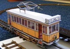 1924`s German Eletric Railcar Paper Model - by Bastelbogen Online - Bonde Elétrico Alemão -         This stunning paper model is from German educational website Bastelbogen Online. It is a free model and the images used in this post are from the modeler Stromstossschalter, which adapted it for using eletric HO scale miniature train chassis. These photos are originally posted at Stummis Modellbahnforum.