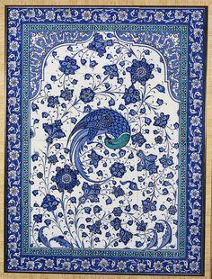 Tile Murals, Tile Art, Mosaic Tiles, Arabesque, Turkish Art, Turkish Tiles, Geometry Art, Z Arts, Arabic Art