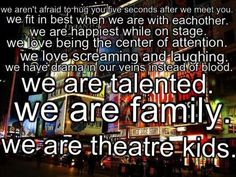 Theatre kid oath (repin if you belong to GLTG)