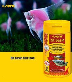Take a Look:  Sera fish food bit basic lampfish guppy fish small tropical fish food feed feeder