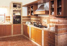 Безошибочный выбор вида отделки: плитка для кухни