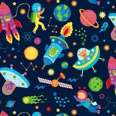 Leading Illustration & Publishing Agency based in London, New York & Marbella. Sanrio Wallpaper, Iphone Wallpaper, Doodle Cartoon, Space Projects, Sun And Stars, Spoonflower Fabric, Drawing For Kids, Outer Space, Flower Designs