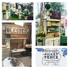 """Behind The Picket Fence """"Vintage & Handmade Marketplace"""" Saturday, May 7th in Costa Mesa- Great Mother's Day Event- Free parking and admission (1720 Adams Ave) Over 65 amazing vendors, live music, food and tons of great shopping!!"""