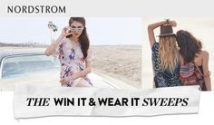 Nordstrom Dream Closet Sweepstakes - ends 4/26 - weekly entries - last entered on 4/1