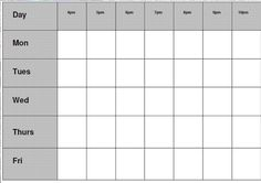 gcse revision timetable - Google Search