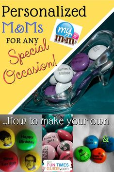 PERSONALIZED M&Ms - Did you know that you can put your own custom messages for M&M's candies? Yep, you can now order bags of personalized M&M's for gifts or parties! #valentinesday #wedding #birthday #specialoccasions #candy #businesslogo