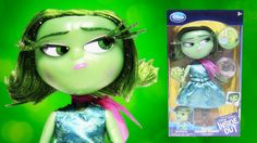 Disney Pixar Inside Out Deluxe Talking Disgust doll speaks 11 phrases and includes a memory ball by Rainbow Toys TV https://youtu.be/tf0ZT4ceEZY