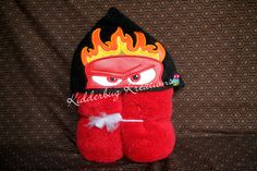 Anger hooded towel for children - pinned by pin4etsy.com