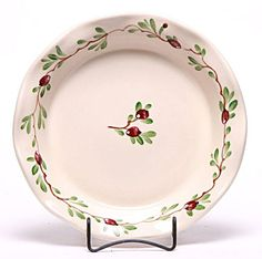 Emerson Creek Ceramic Frilly Pie Plate Cranberry *** To view further for this item, visit the image link.(This is an Amazon affiliate link and I receive a commission for the sales)