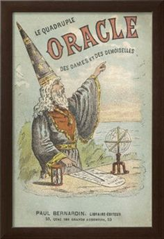 Le Quadruple Oracle des Dames et des Demoiselles' a French Manual of Popular Magic Giclee Print at Art.com