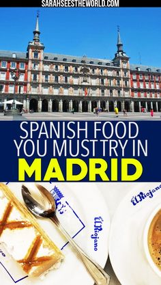 Madrid is known for its food so why not go on a food tour while you're there! Check out my food tour experience with Secret Food Tours and all the spanish food you must try in Madrid. If you love spanish food as much as we do, you'll definitely want to save this pin to your travel or wine board.