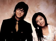 kang dong won with ha ji won, my favourite korean actress (they starred together in The Duelist)