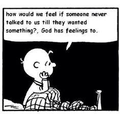 Amen! Charlie Brown said it best!