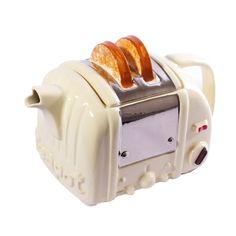 Retro Toaster Teapot.