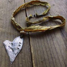 Ciondolo cuore rustico cuore bio rustico rustico cuore di quisnam