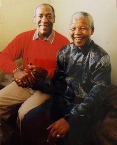 Game Changers: Bill Cosby & Nelson Mandela ♛ www.pinterest.com/WhoLoves/Nelson-Mandela ♛ #rip #nelsonMandela