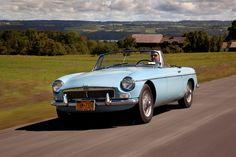 Drop-top heaven: 1963 MG MGB Roadster