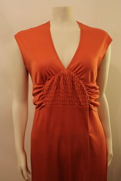 Orange Maxi Dress  Vintage 1980's by GeorgetteEtJosephine on Etsy, $30.00 Dress Vintage, 1980s, Shoulder Dress, Orange, Trending Outfits, Unique, Etsy, Clothes, Fashion