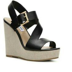 Steve Madden Platform/Wedge Sandals