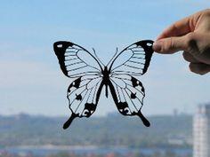Butterfly  Handmade Original Papercut  Gift HandCut by DreamPapercut