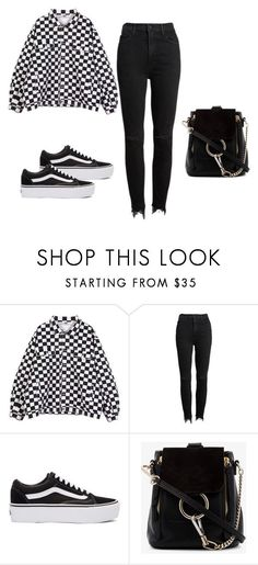 """""""Untitled #45"""" by jessica-gomes-3 on Polyvore featuring Mother, Vans and Chloé"""