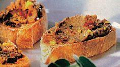 Hrianky s pečeňovým krémom | Casprezeny.sk