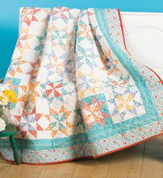 A La Mode Quilt by Thimble Blossoms using Canning Day Fabric collection  $57.06