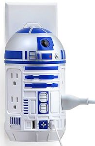 Star Wars R2-D2 Power And USB Socket Bar.