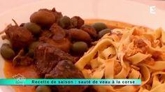 Sauté de veau aux olives à la corse
