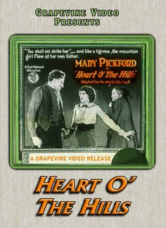 Heart O' The Hills (1919) Joseph De Grasse & Sidney Franklin direct Mary Pickford, Harold Goodwin & Allan Sears in this silent drama. http://www.grapevinevideo.com/heart-o-the-hills.html