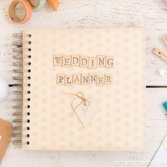 Álbum de scrapbook para casamentos - Wedding planner