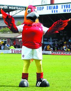 Phoenix the Rotherbird #football #mascot #costume
