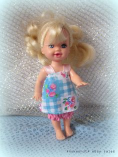 AVAILABLE. Barbie's sister Kelly (known  as Shelly in the UK)