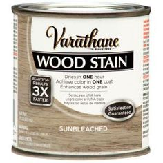 Create a rich and exclusive look to your kitchen surface by selecting this affordable Varathane Weathered Gray Premium Fast Dry Interior Wood Stain. Varathane Wood Stain, Stain Wood, Interior Wood Stain, Bleached Wood, Paint Stain, Gray Stain, Just Dream, Wood Interiors, Red Barns