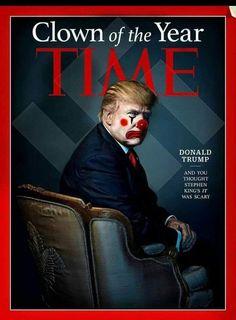 10 Trump Clown Ideas Clown Trump Trump Humor