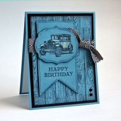 Guy Greetings - Stampin Up - What color is this card? | Stamps, Paper, Scissors | Bloglovin'