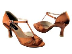 Ladies Rhythm Salsa Competitive Dancer CD6200 Dark Tan Satin 3 5M ** Find out more about the great product at the image link.