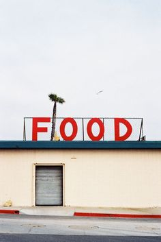 The sign says FOOD @Mallory Flemister @Maggie Flemister
