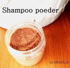 Kruiden haar shampoo poeder