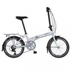 "Vélo pliant 20"" avec porte bagage aluminium"