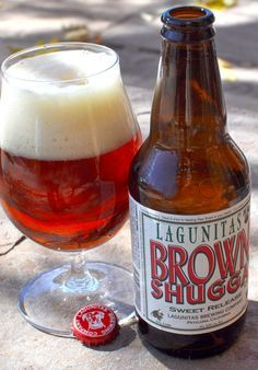 """Lagunitas Brown Shugga' clone lies between an American Strong Ale and """"Irresponsible,"""" pouring deep amber with the brown sugar balanced with floral hops."""