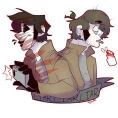 Masky/Tim! Poor him ;-;